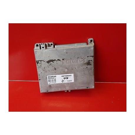 RENAULT CLIO 1 CALCULATEUR MOTEUR ECU 7700861423 7700869732 S102730101Q