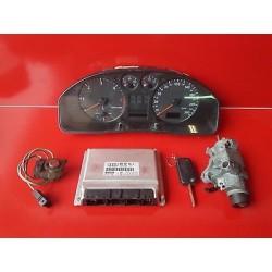 AUDI A4 2.5 TDI V6 150 CV KIT DEMARRAGE CALCULATEUR REF 8D0907401A 0281001774