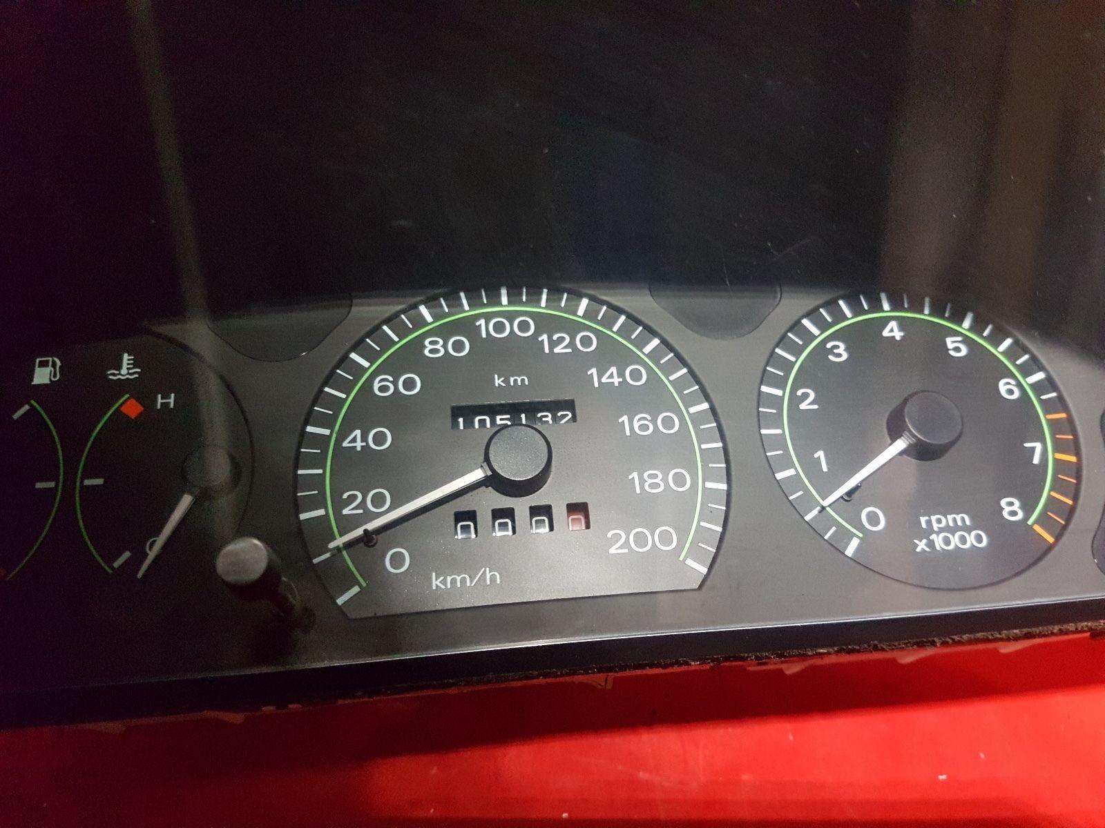 FIAT stilo compteur de vitesse COMBI instrument réparation