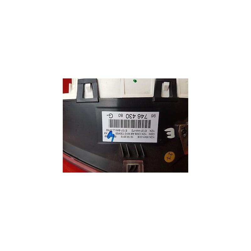 Peugeot 208 Hdi Compteur Kilometrique Vitesse Ref 9674643080 Gb